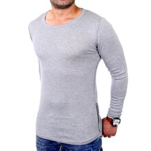 Redbridge Sweatshirt Herren Zipped Langarm Strick...