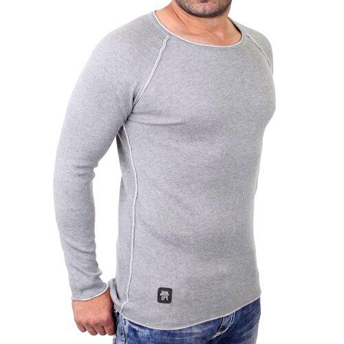 low priced bf40a 77d27 Redbridge Sweatshirt Herren Slim Fit Rundhals Pullover Langarm RB-3010