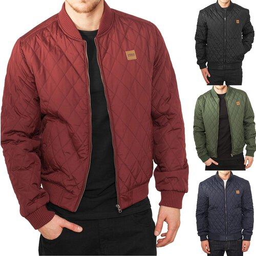 Quilt Urban Herren Classics Jacke Nylon Übergangsjacke Tb 862 Diamond rWIrq4U5