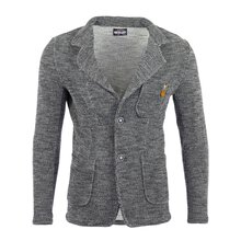 Reslad Herren Strickjacke Fancy Look Strick Jacke Sakko...