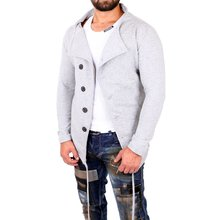 ReRock Sweatjacke Herren Long Style Fancy Look Blouson...