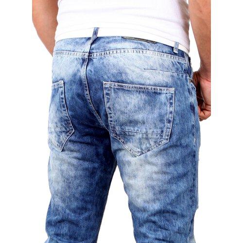 rerock jeans jogginghose destroyed jogg jeans hose. Black Bedroom Furniture Sets. Home Design Ideas