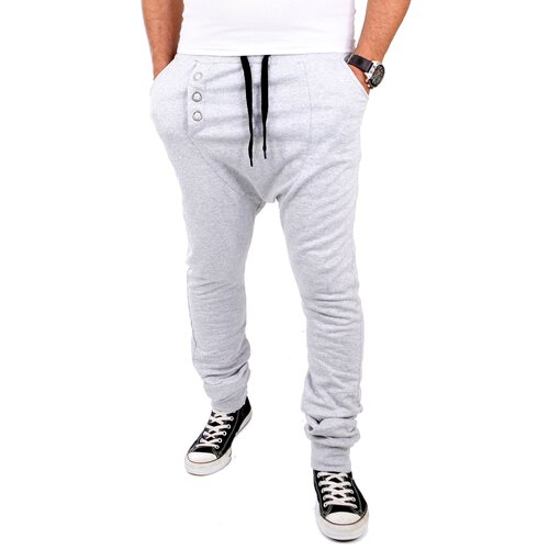 Tazzio Jogginghose Herren Deep Low Crotch Club Wear Sweatpant TZ-502