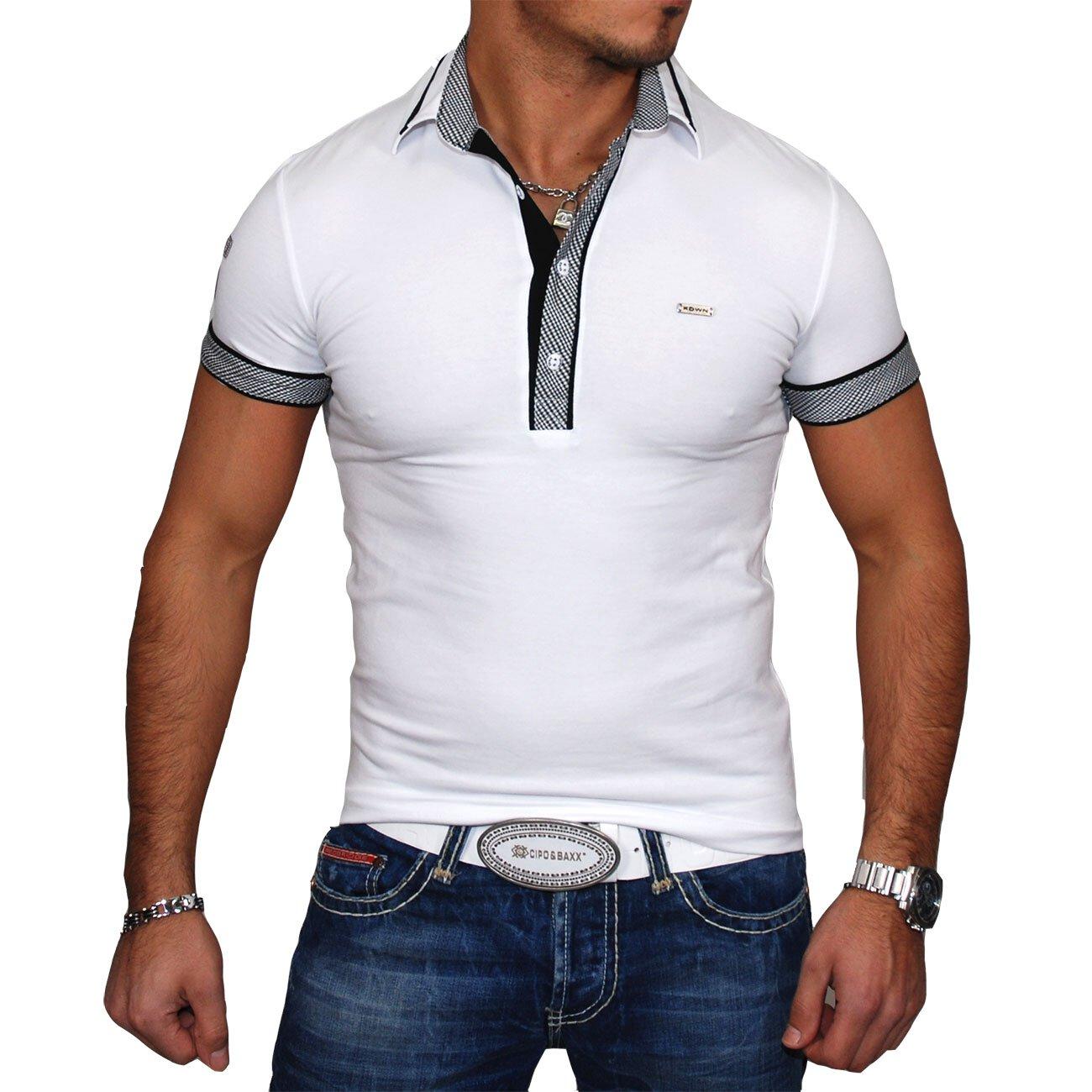 kickdown t shirt herren slim fit poloshirts g nstig. Black Bedroom Furniture Sets. Home Design Ideas