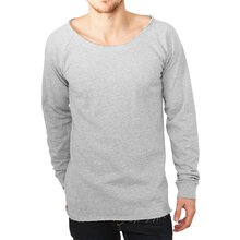 Urban Classics Sweatshirt Long Open Edge Terry Crewneck...