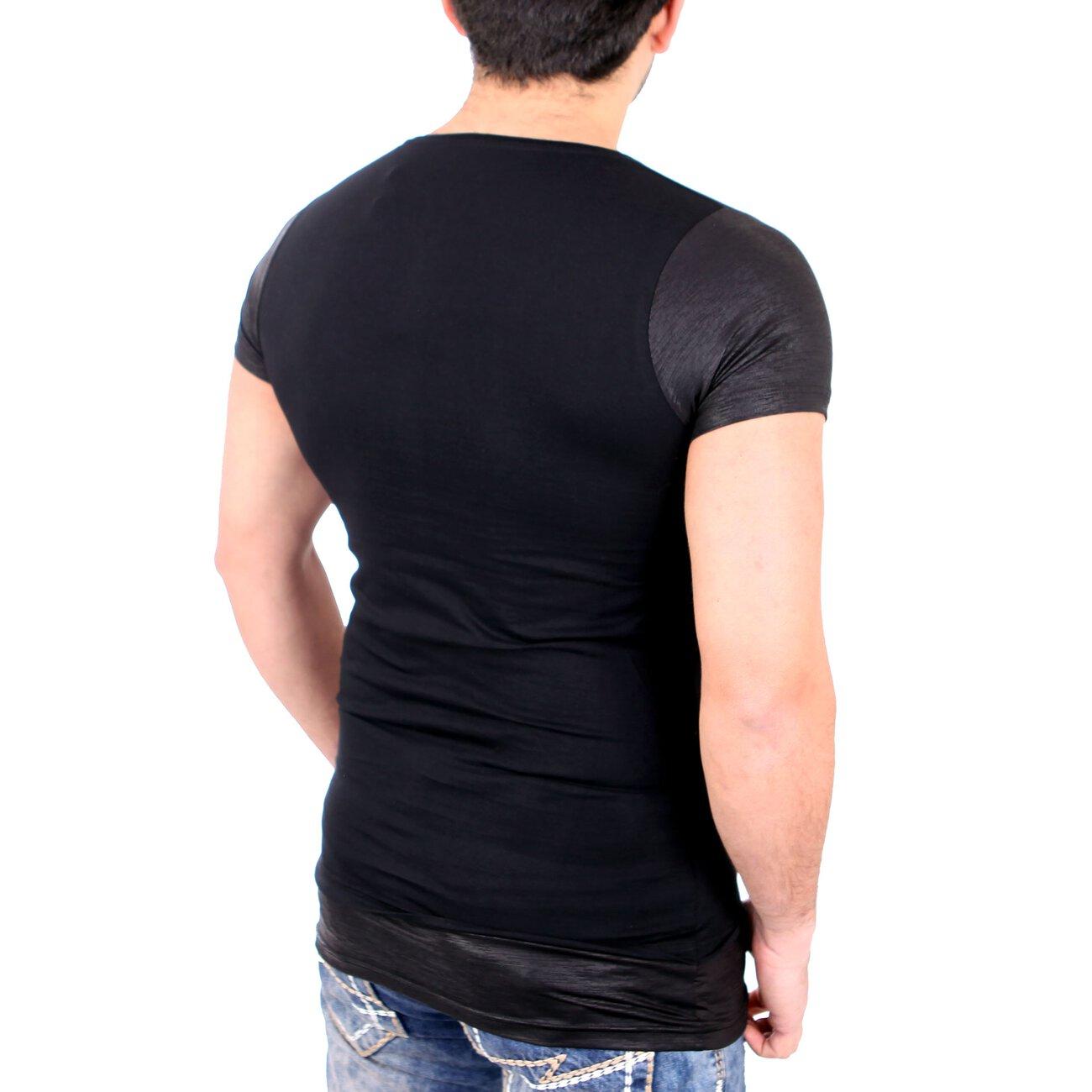 carisma t shirt herren slim fit oversize totenkopf print shirt crsm 4. Black Bedroom Furniture Sets. Home Design Ideas