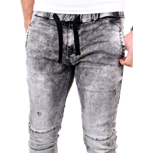 VSCT  Jeans Herren Nash Cuffed Moonwash Vintage Optik V-5641550 Schwarz