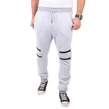 Reslad Jogginghose Herren Low Crotch Zipped Sweatpant...