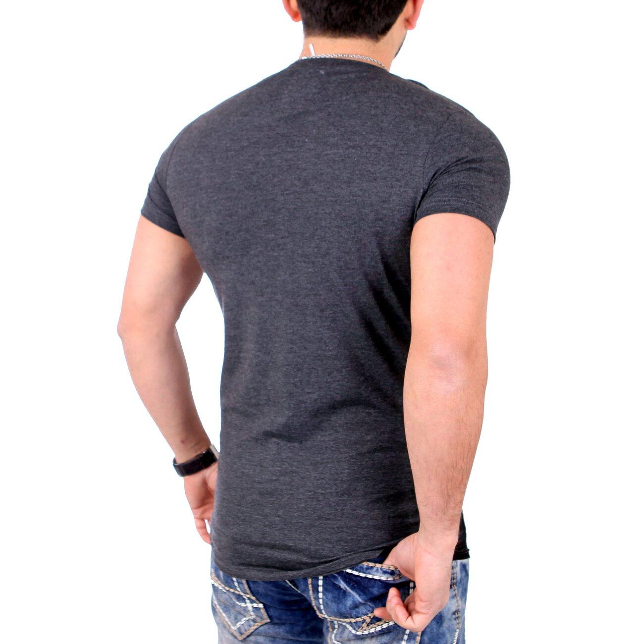 reslad t shirt rundhals long style shirt casual wear. Black Bedroom Furniture Sets. Home Design Ideas