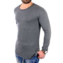 Carisma Langarmshirt Herren Basic Zipped Long Style...