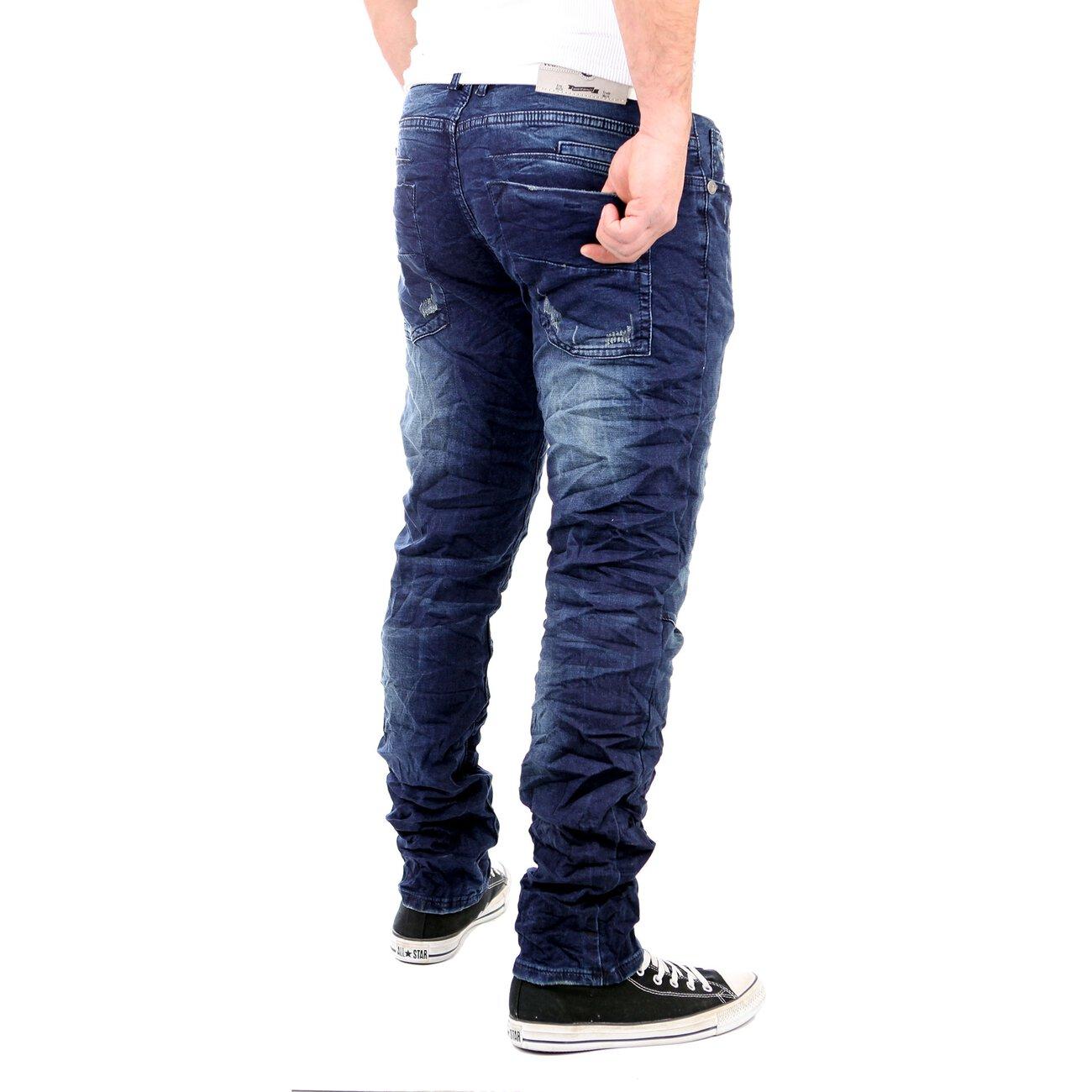 reslad jogg jeans herren slim used look jogging jeans hose. Black Bedroom Furniture Sets. Home Design Ideas