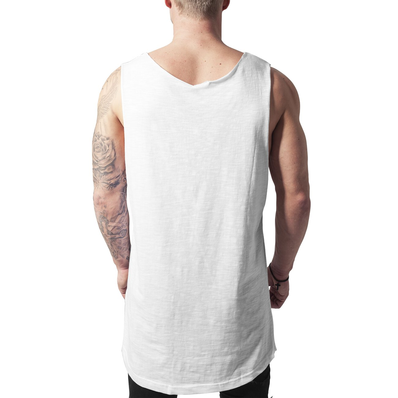 Urban Classics Tank-Top Long Style Loose Fit Singlet TB-964