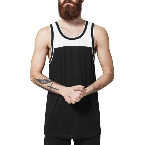 Urban Classics Tank-Top Herren Loose Fit Two Tone Mesh Jersey TB-977
