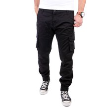ReRock Herren Cargo Style Chino Strech Colored Hose RR-3332
