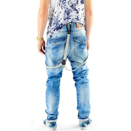 ... VSCT Jeans Herren Antifit Brad Solid Hosenträger Jeanshose V-5641370  Blau ... 696d32c6f5