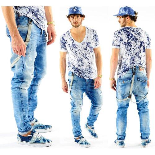Jeans Brad V Blau Hosenträger Vsct Herren Solid 5641370 Antifit lKFJuT135c