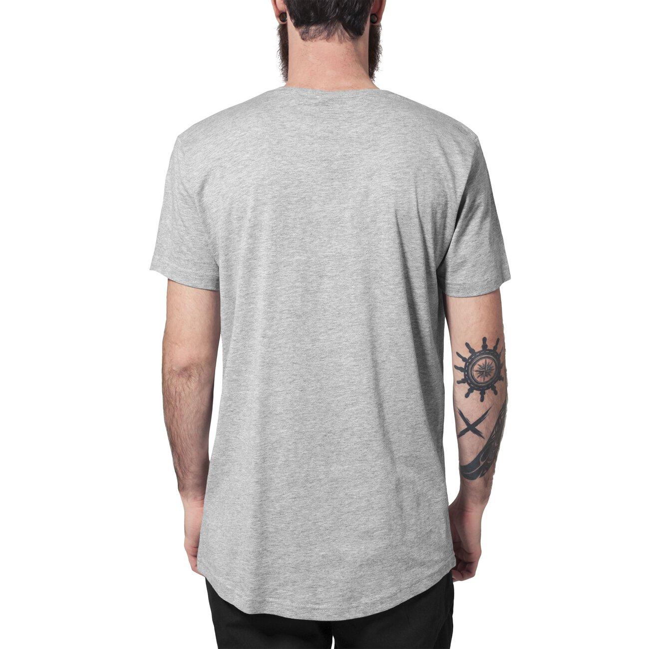 urban classics t shirt herren shaped long style kurzarm shirt tb 638. Black Bedroom Furniture Sets. Home Design Ideas
