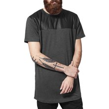 Urban Classics T-Shirt Herren Shaped Long Material Mix...