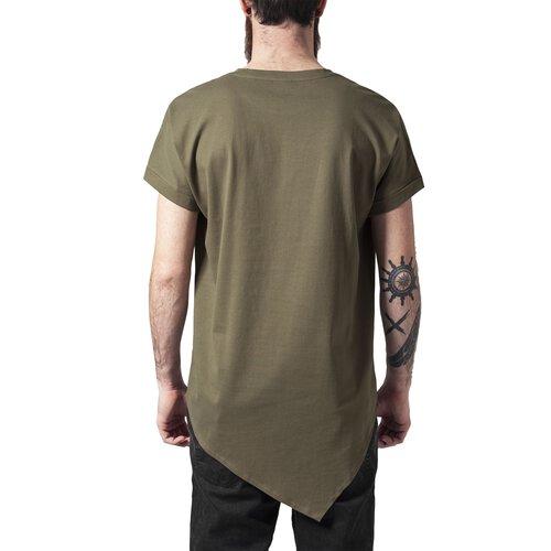9225e8364884 ... Urban Classics T-Shirt Herren Asymetric Long Style Kurzarm Shirt  TB-1227 ...