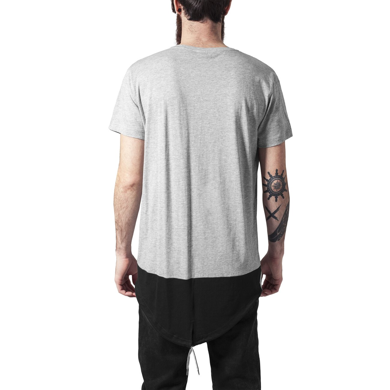 urban classics t shirt herren oversize long tail kurzarm shirt tb 122. Black Bedroom Furniture Sets. Home Design Ideas
