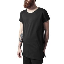 Urban Classics T-Shirt Herren Long Shaped Side Zip...