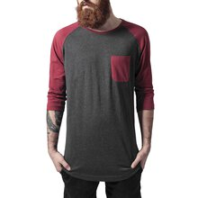 Urban Classics T-Shirt Herren Raglan 3/4-Arm Pocket...