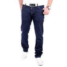 Rusty Neal Jeans Herren Blue Denim Straight Leg Jeanshose RN-12021 Blau W29    L32 3c817626bc