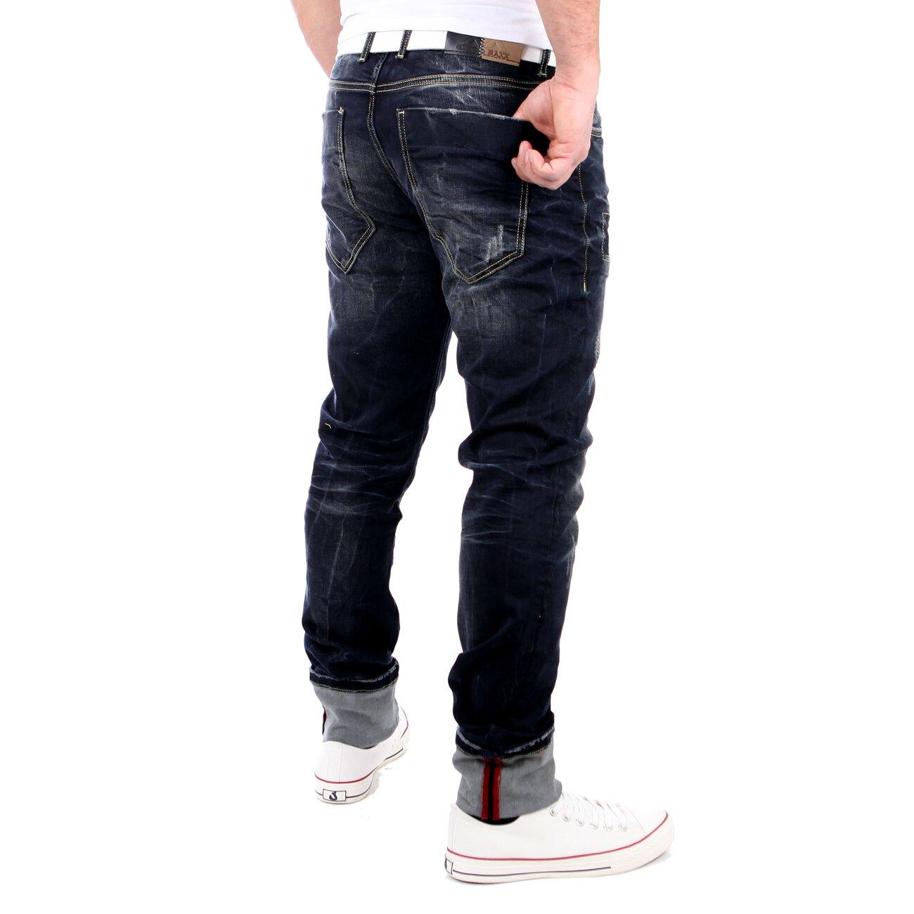cipo baxx jeans patched regular fit jeanshose cd 201 blau. Black Bedroom Furniture Sets. Home Design Ideas