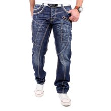 Cipo & Baxx Herren Jeans Regular Fit Zip Style Denim...