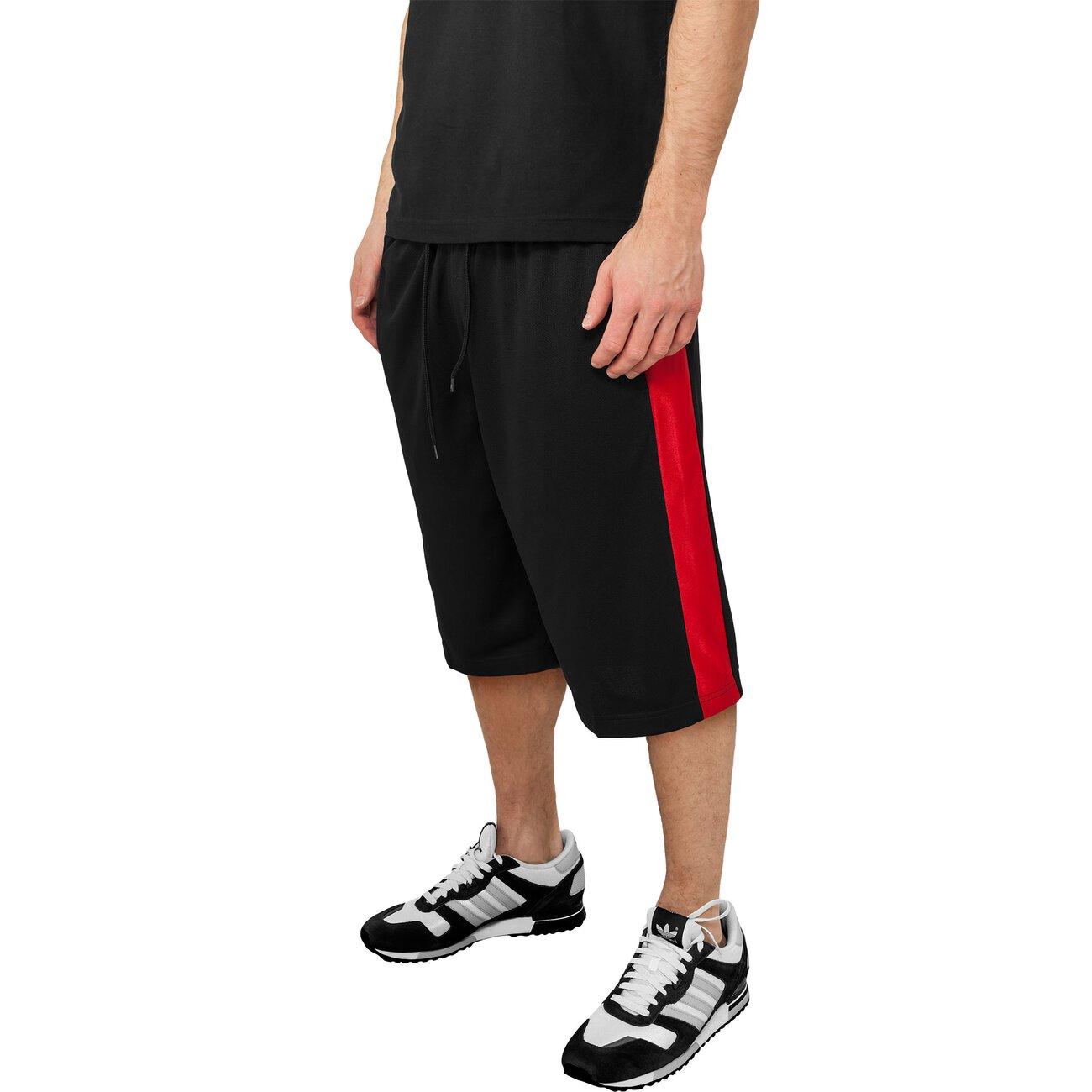 urban classics basketball shorts herren sidestripe mesh tb 651. Black Bedroom Furniture Sets. Home Design Ideas