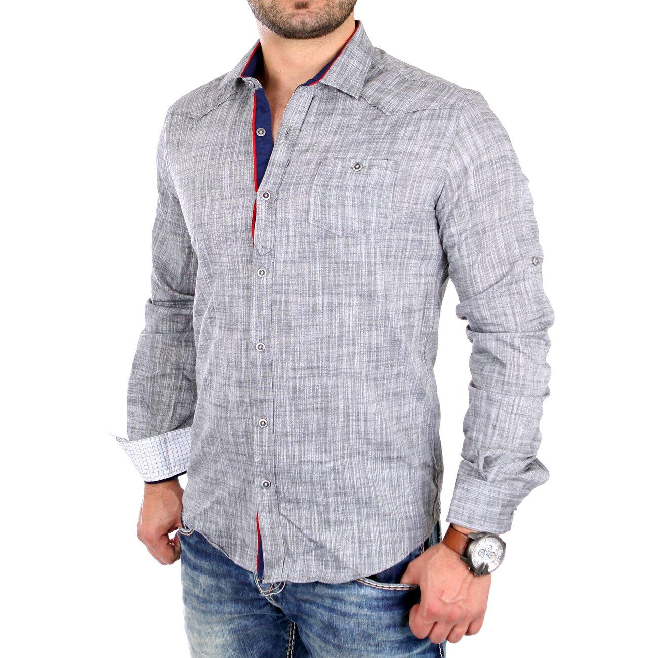 reslad freizeit hemd leichtes sommerhemd herren rs 16001. Black Bedroom Furniture Sets. Home Design Ideas
