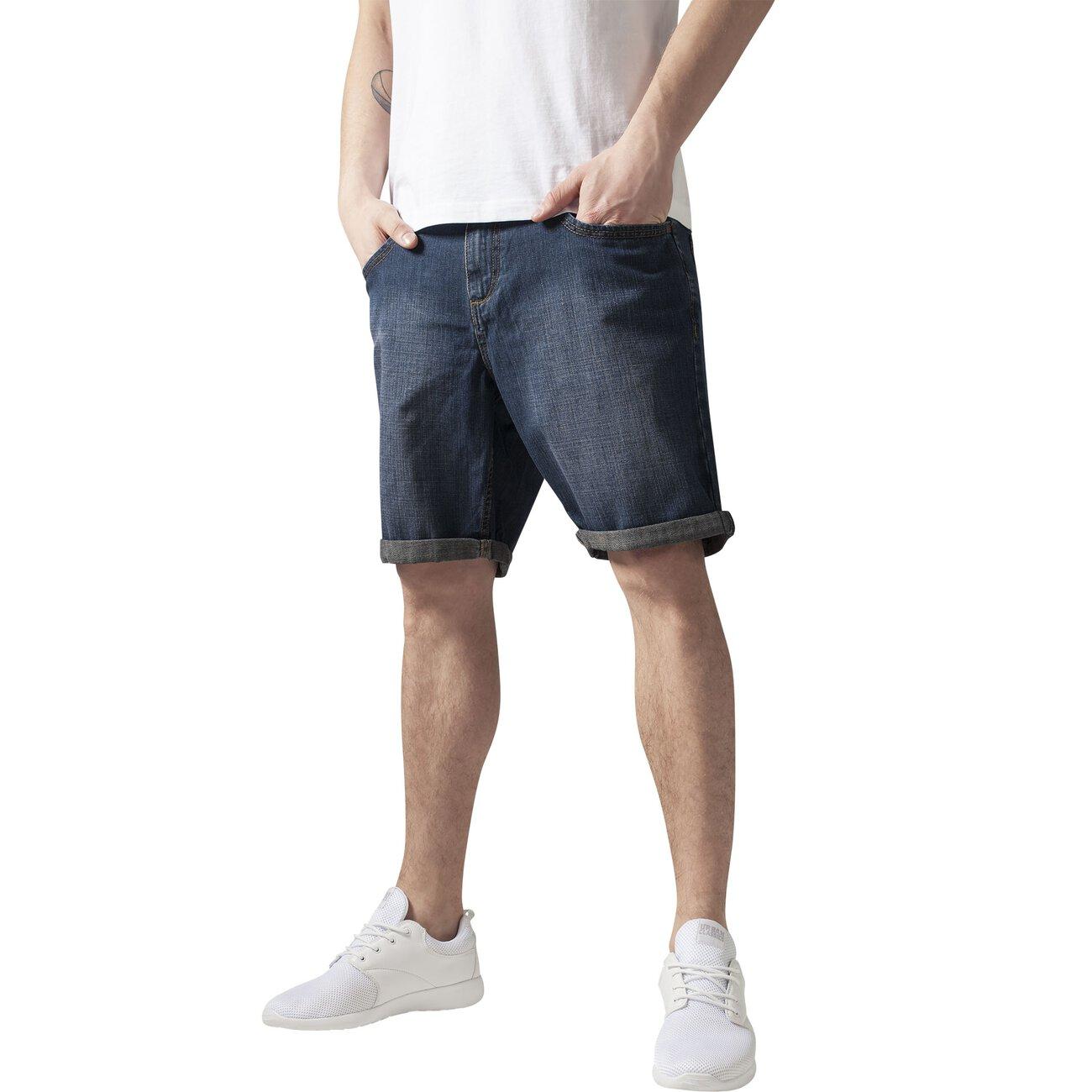 urban classics denim shorts herren fitted denim kurze hose tb 516. Black Bedroom Furniture Sets. Home Design Ideas