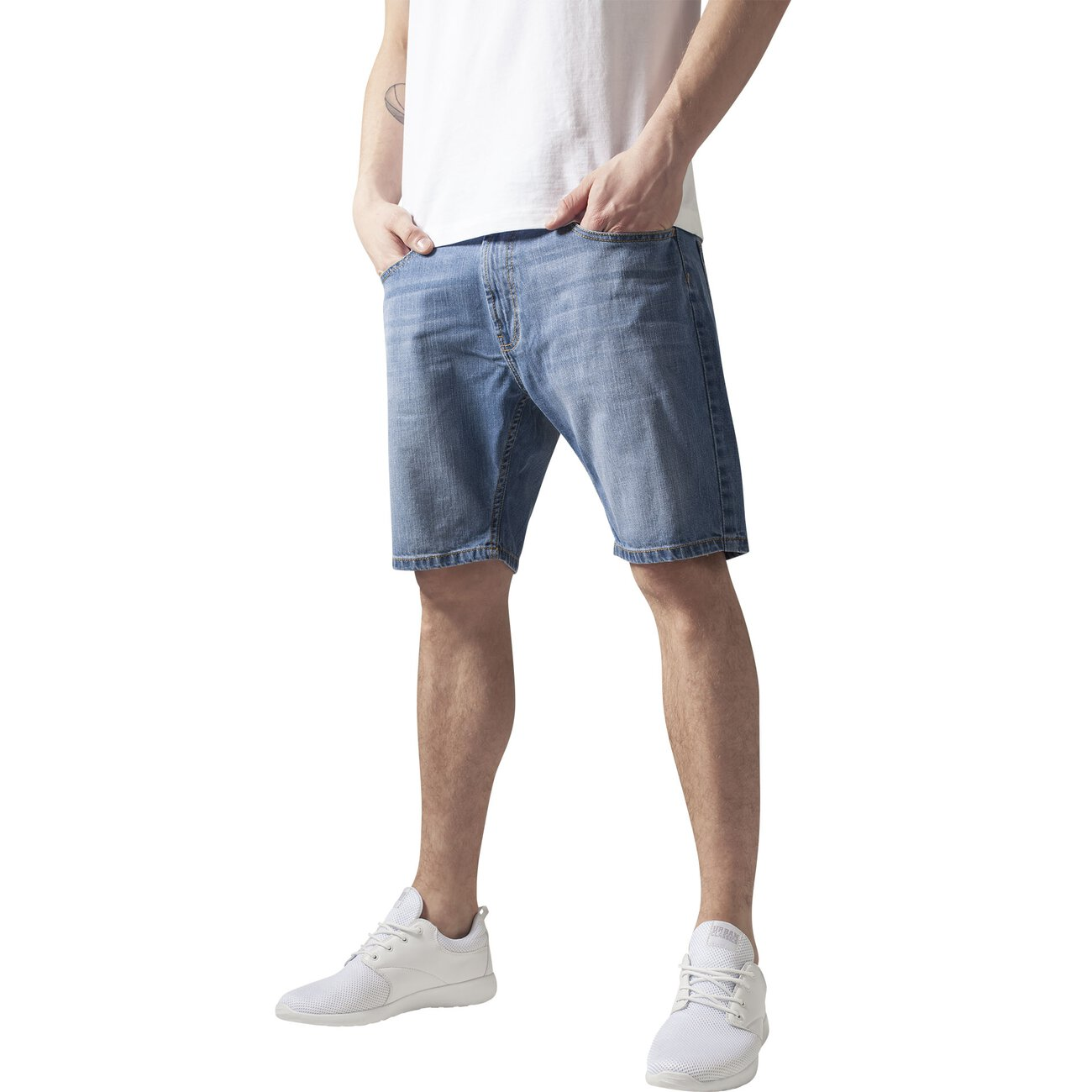 urban classics jeans shorts herren casual denim shorts tb 1016. Black Bedroom Furniture Sets. Home Design Ideas