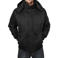 Urban Classics Jacke Herren Heavy Hooded Winterjacke...