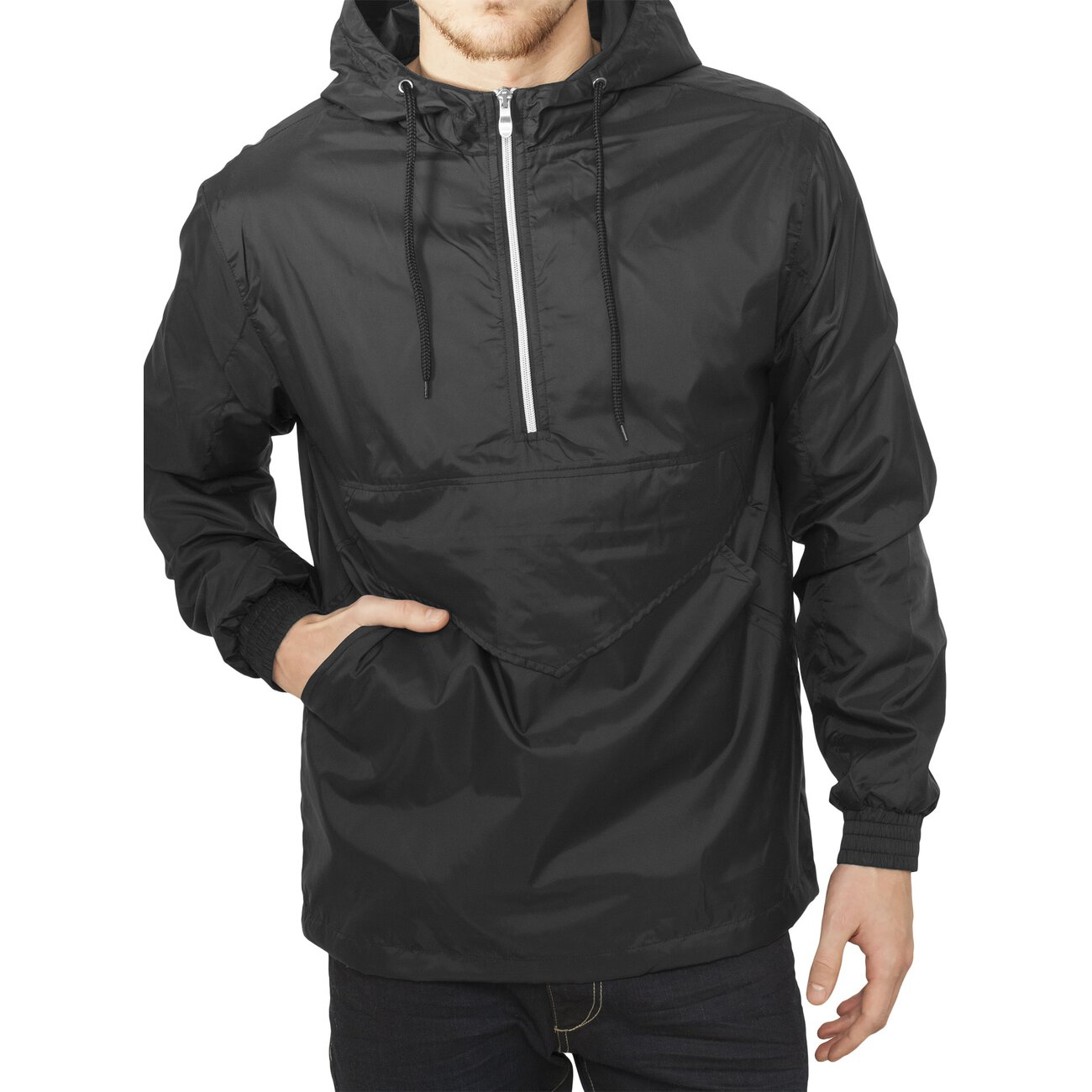 urban classics windbreaker pullover herren pull over jacke. Black Bedroom Furniture Sets. Home Design Ideas