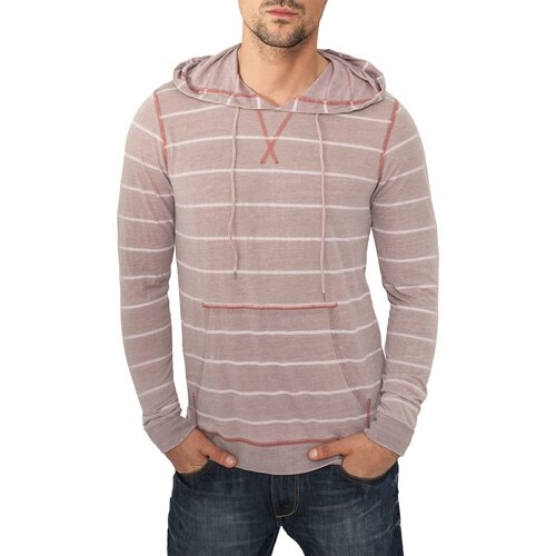 Urban Classics Sweatshirt Herren Striped Burnout Hoody TB-536