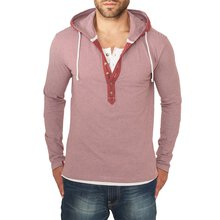 Urban Classics Sweatshirt Herren Fine Stripe Button...