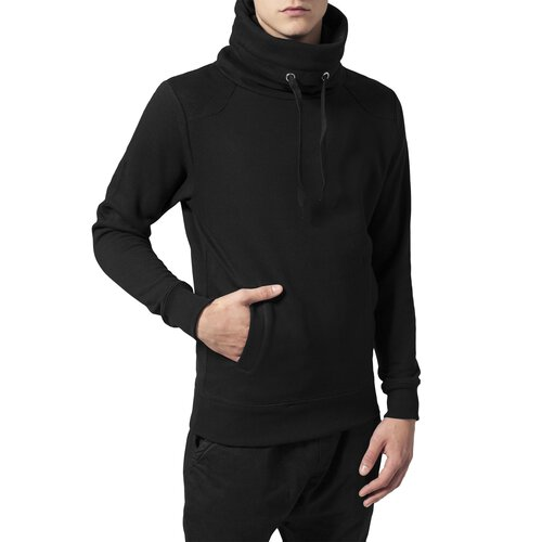 Urban Classics Sweatshirt Herren Contrast Shoulder High Neck Hoody TB-842