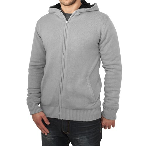 Urban Classics Sweatjacke Herren Knitted Winter Zip Hoody TB-556