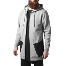 Urban Classics Sweatjacke Herren Long Peached Tech Zip...