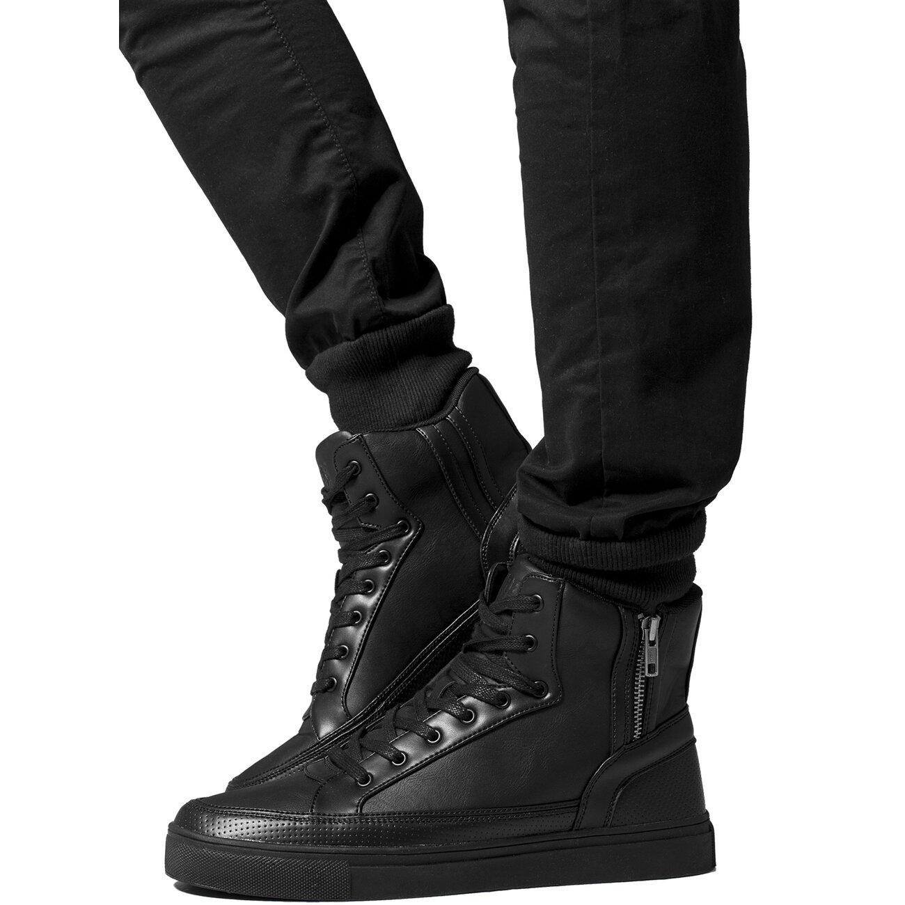 urban classics high sneaker herren zipper high top shoe tb 1271. Black Bedroom Furniture Sets. Home Design Ideas