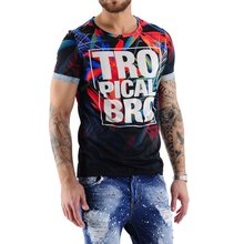 VSCT T-Shirt Herren Tropical Bro Full Print Shirt...