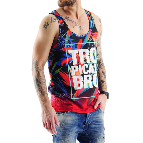 VSCT Tank-Top Herren Tropical Bro Full Print Singlet V-5641716 Original