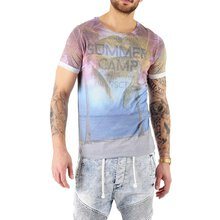 VSCT T-Shirt Herren Summer Camp Full Print Motivdruck...
