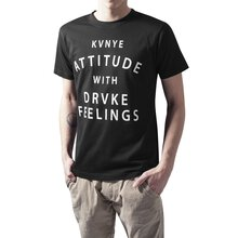 Mister Tee T-Shirt Herren ATTITUDE AND FEELINGS Print...