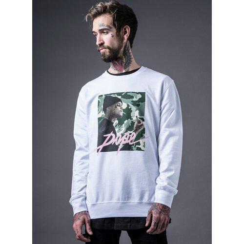 Mister Tee Sweatshirt Herren DOPE CAMO Motiv Print Crewneck MT-352 Weiß a60ecc13ce