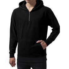Urban Classics Sweatshirt Herren Sweat Troyer Kapuzen...