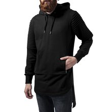 Urban Classics Sweatshirt Herren Pleat Sleeves Terry HiLo...