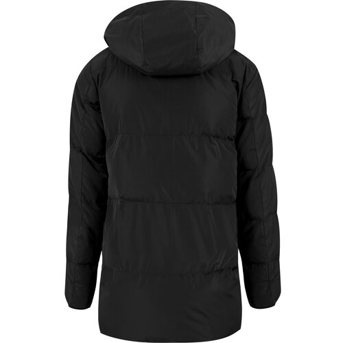 Urban Classics Winterjacke Herren Heavy Long Bubble Jacke TB-1460 Schwarz