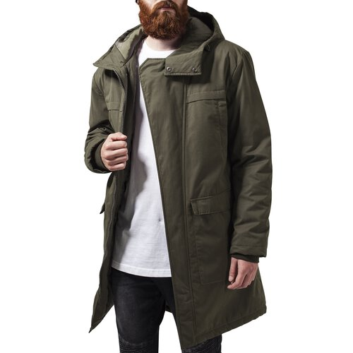 Urban Classics Winterjacke Herren Cotton Peached Canvas Parka TB-1461
